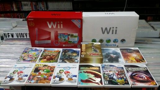 Nintendo wii video games and systems