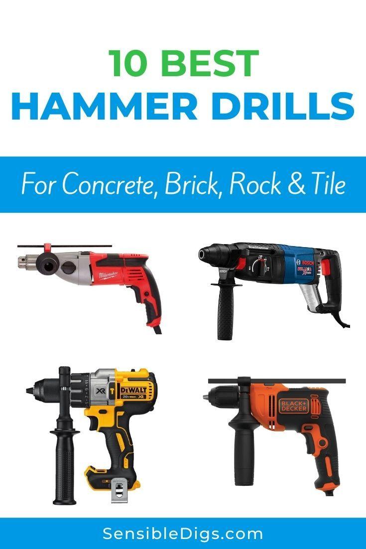 10 best hammer drills for concrete