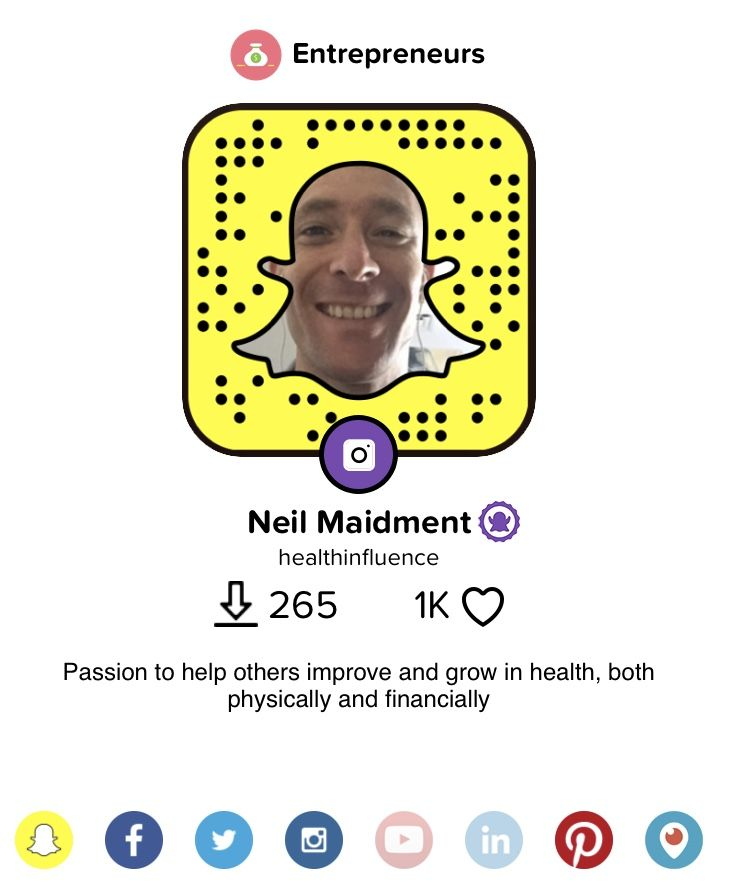 Snap and learn what I get upto day to day, and connect with more of my media