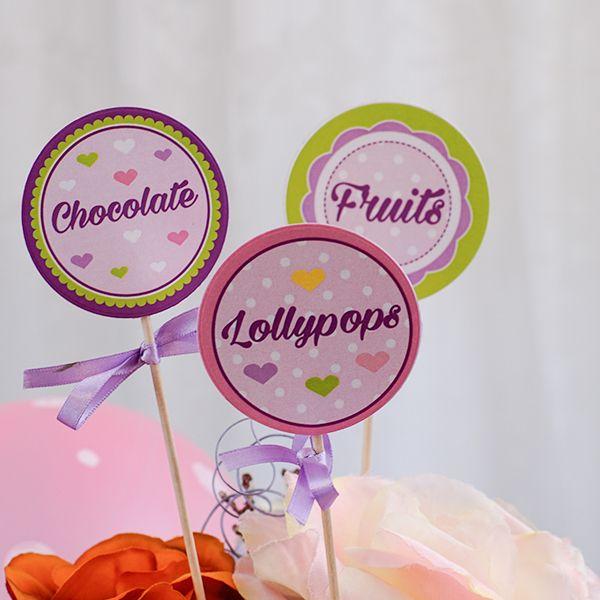 Eticheta - Lovely Pink