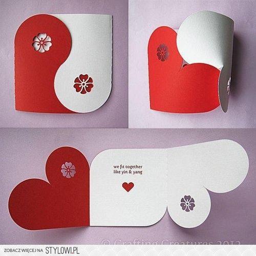 diseños de cartas de amor con hojas de colores paso a paso - Buscar con Google