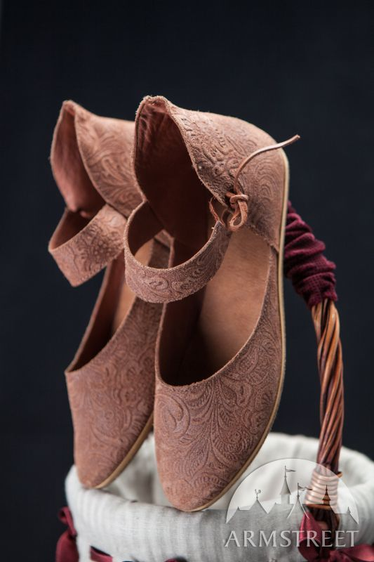 Womens Leather Shoes Medieval Lightweight :: by medieval store ArmStreet