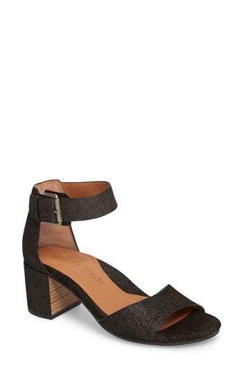1159ec08214a Women s Gentle Souls Christa Block Heel Sandal - Black