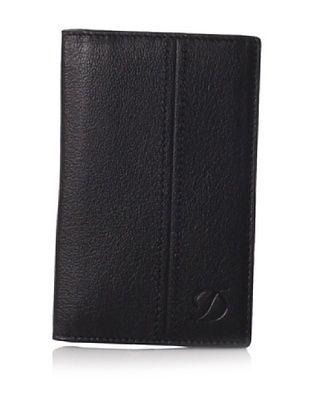 48% OFF S.T. Dupont Men's Card Holder Wallet (Black)