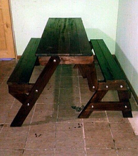 foldable picnic table that turns into a bench