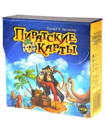 Магеллан Пиратские карты  — 690 руб.  —  Настольная игра Пиратские карты Magellan – это увлекательная и полная приключений игра про пиратов и поиск сокровищ. В начале игры каждый участник получает одну из 4 частей карты сокровищ. Цель игры - собрать всю карту. Но. Чтобы получить каждую следующую...