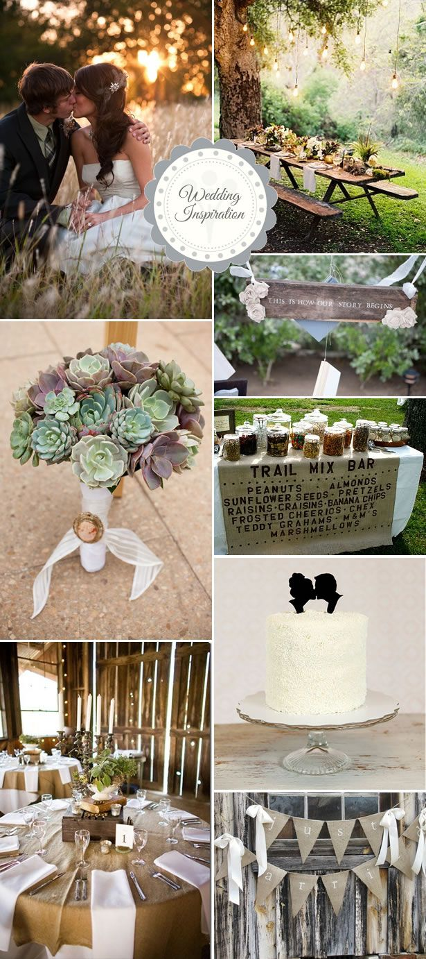 Rustic wedding inspiration...
