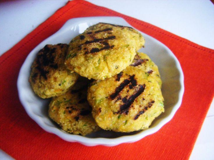 polpette di zucchine e quinoa e curry