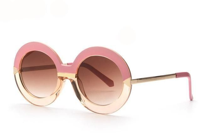 BOUGIE-Round Arrows Sunglasses