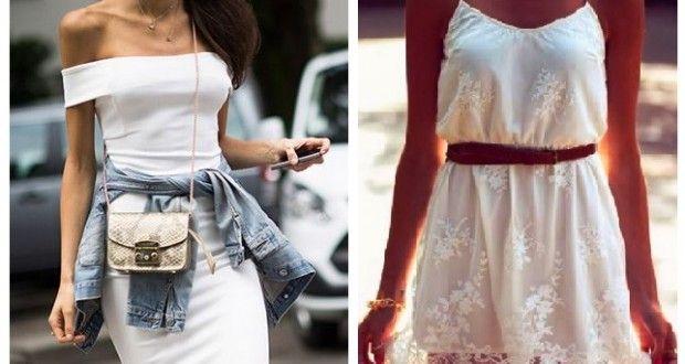 Yaz Modası Beyaz Elbise Modelleri | Kadinveblog