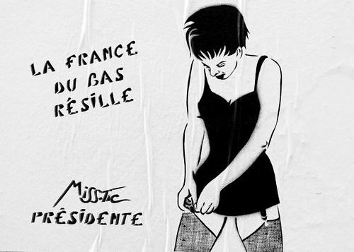 #streetart #misstic  Miss-Tic à Paris (2) by dareallife, via Flickr