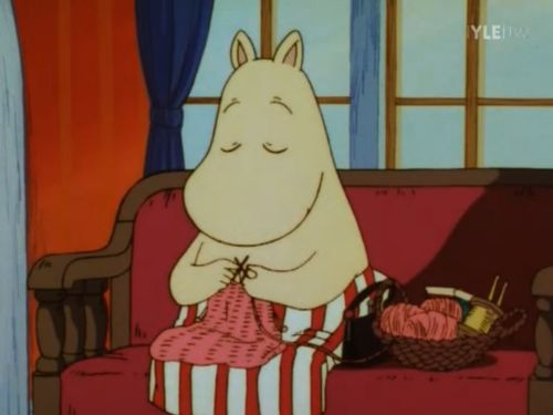 Image Detail for - knit knitting moomin tv show cartoon anime