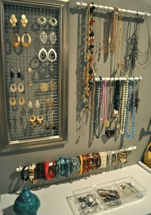 porte bijoux muraux: des vrais accrochers