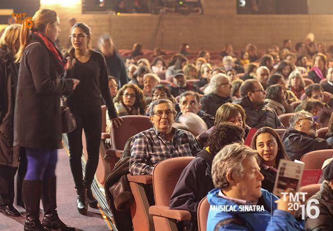Teatro Municipal Temuco, Musical Sinatra 2016