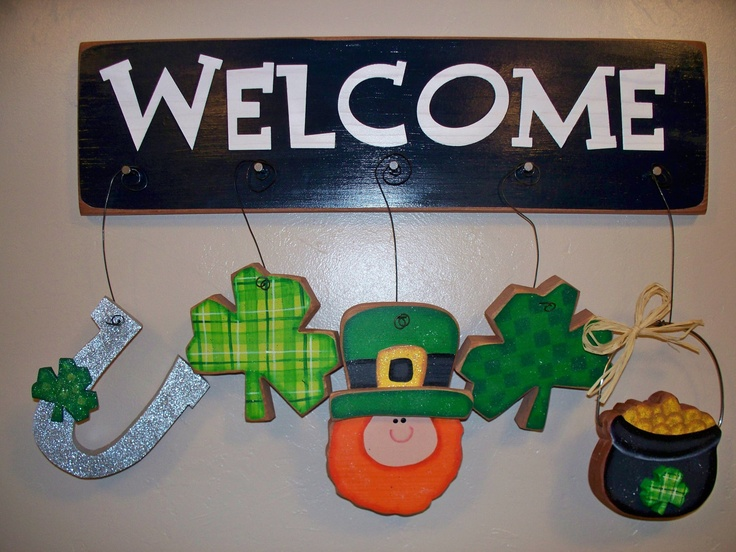 St. Patrick's Whimsical Welcomes, St. Patrick's Day Crafts