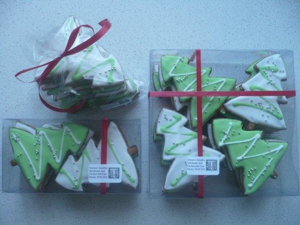 Tamara'sGoodies Christmas cookies & packaging