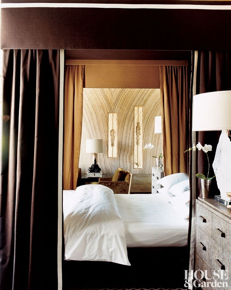 interiors beverly hills home by kelly wearstler cream bedroomsbrown - Brown And Cream Bedroom Ideas