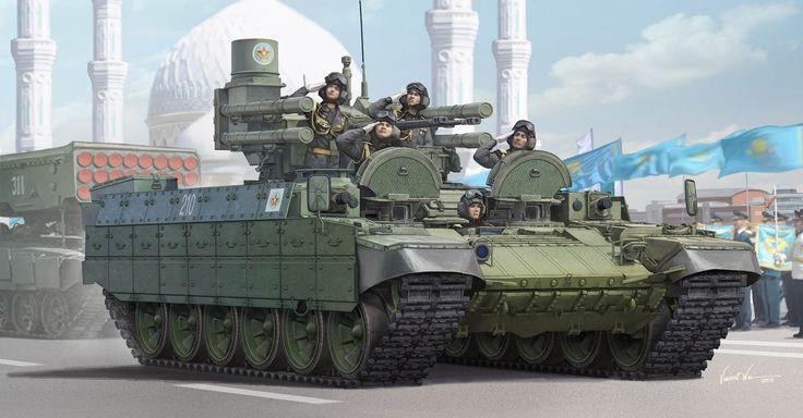 рисунок Kazakhstan Army BMPT