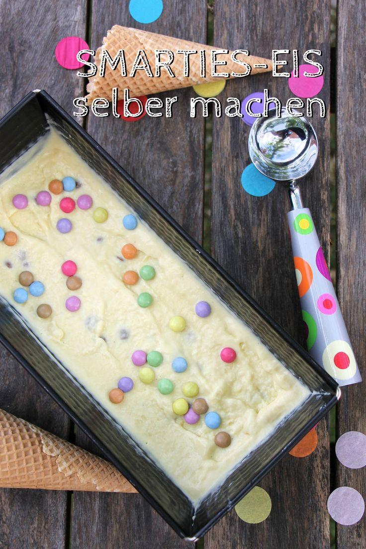 Smarties-Eis selber machen: Sommerglück pur (inkl. Lily-Balou-Gewinnspiel