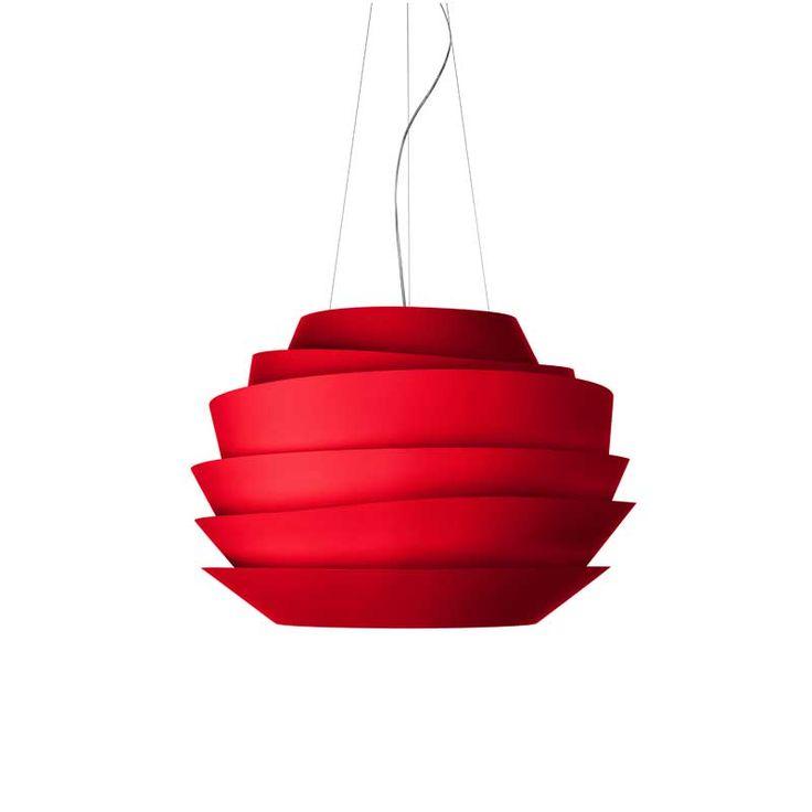 Yummy!   Le Soleil (halogen), rød, Foscarini