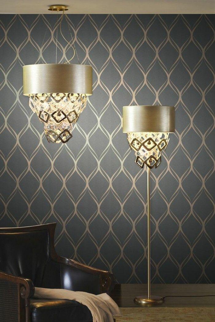 Die besten 25+ Geometrische tapete Ideen auf Pinterest Moderne - deko ideen hexagon wabenmuster modern