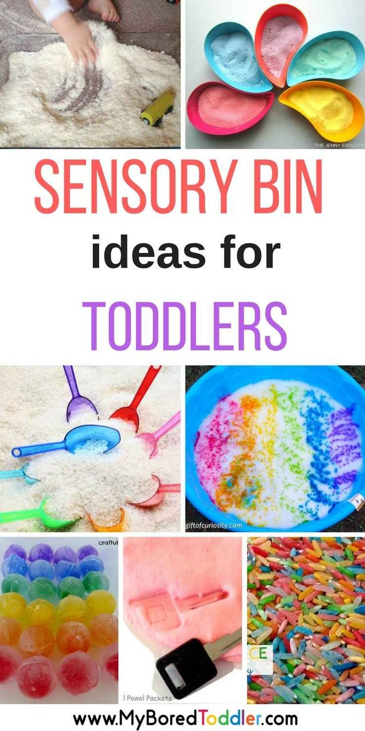 Sensory Bins for toddlers sensory play for 1 year olds 2 year olds 3 year olds sensory play activities for toddlers and babies.