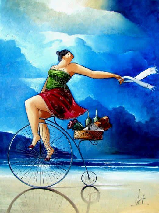 Summer Night Ride ~ Ronald West