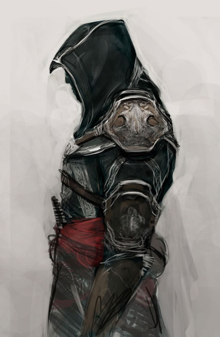 Ezio Auditore da Firenze. I enjoy the Assasins Creed franchise. A character within the shadows, a cloaked killer.