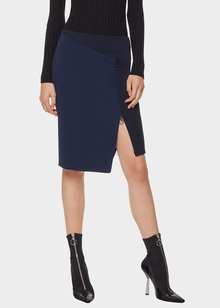 Silk Cady Skirt - A1384