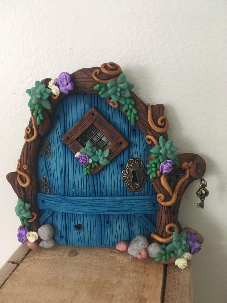 Succulent Fairy Door.