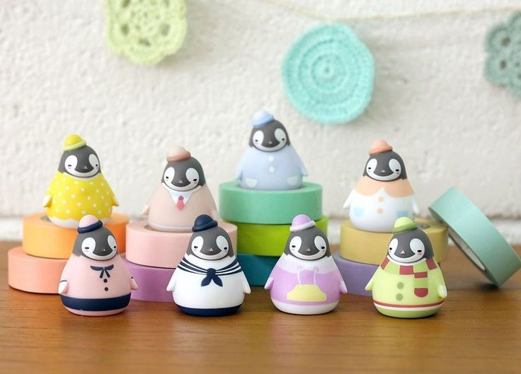 Korea Peperico Penguin Random Mini Figure Vol 2 Dress Room 3 5 x 4 5 Cm | eBay