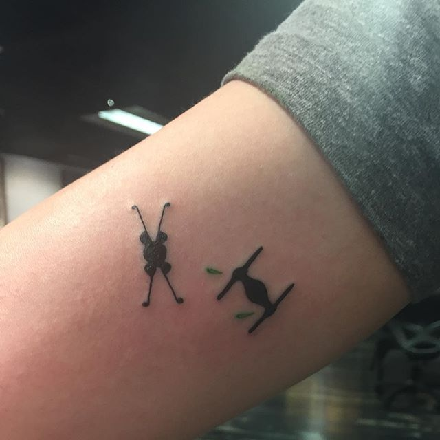 Pin for Later: 20 Tiny Star Wars Tattoo Ideas Perfect For Any Fan of the Force TIE Fighter and X-Wing Starfighter