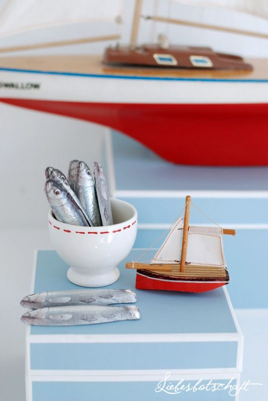 Simpel and lovely nautical treats