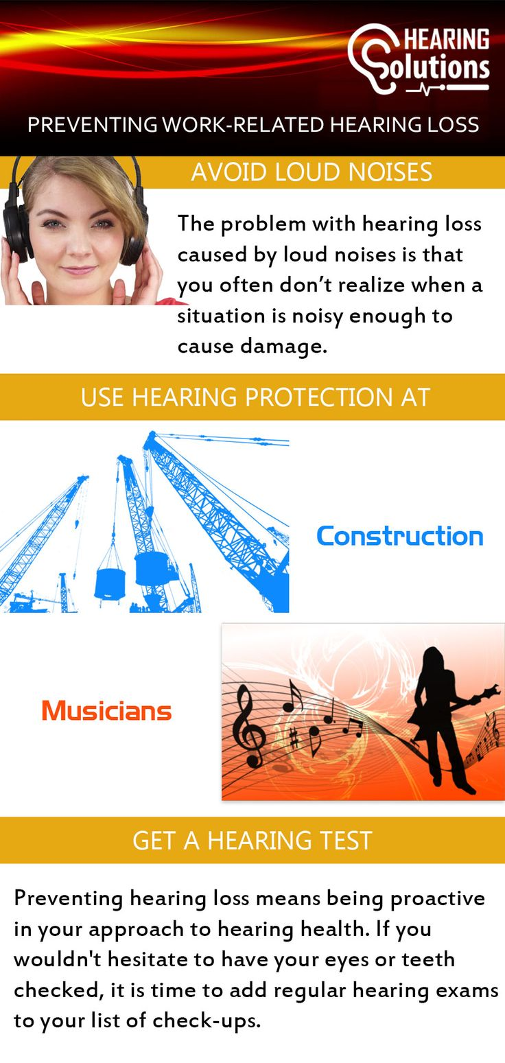 Loud noise can damage your hearing. Even sometimes you can't realize noisy situation which can be harmful to your hearing. You should have to use hearing protection at the time of construction. Hearing Test is also required to check which type of hearing loss you are suffering from. For more visit:- https://www.hearingsol.com