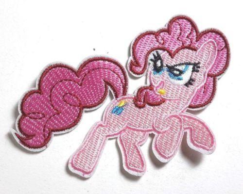 My Little Pony Rose Brodé à coudre ou thermocollant 9cm: Tweet thermocollant instructions: 1) séchage fer à 400°/coton Température sur…