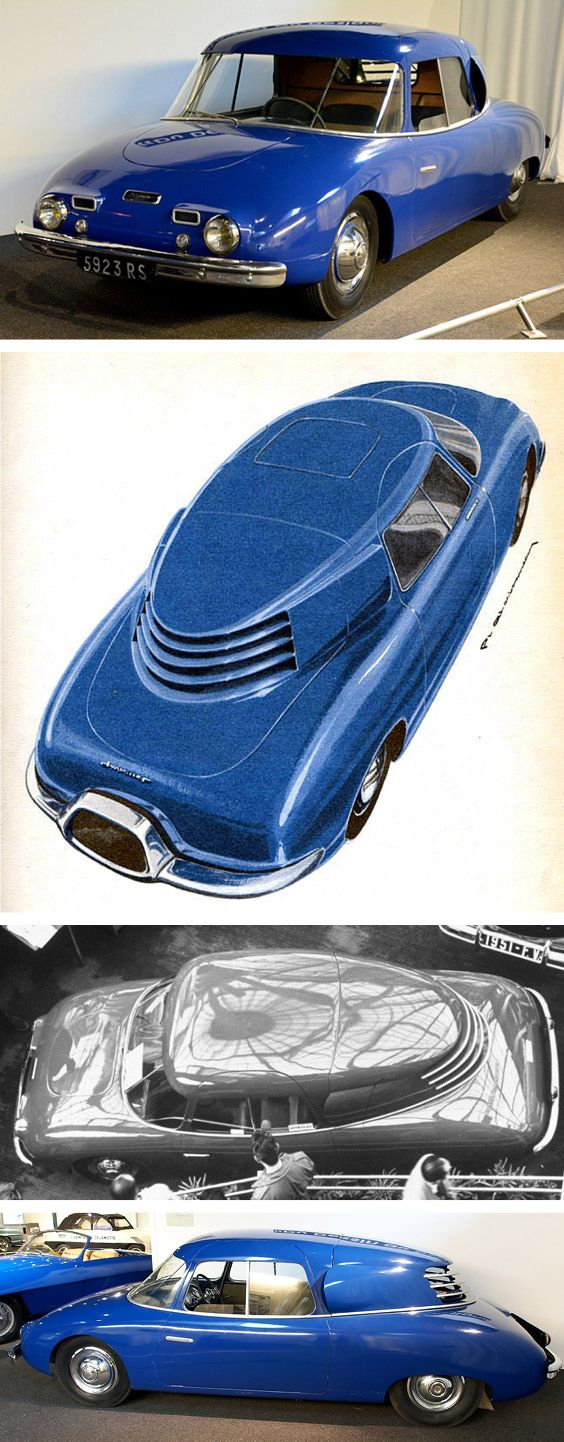 Wimille Prototype No 3, 1950. A further prototype, also designed by Philippe Charbonneaux, based on the same principles as Prototype No 1, used a Ford 2.2 litre flathead V8 ahead of the rear wheels, as a suitable V6 was not available. However tragedy struck when Wimille, still an active racecar driver, fatally crashed his Simca-Gordini in Argentina in January 1949. The project was stillborn, though it was exhibited as a posthumous homage at the 1950 Paris Motor Show
