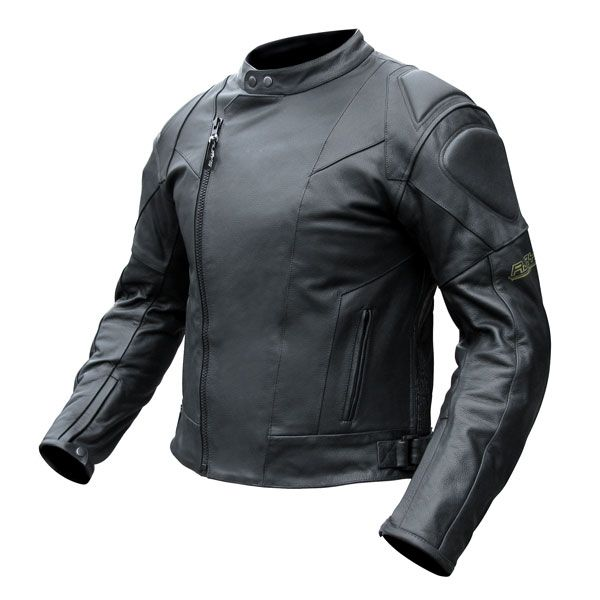 Rjays Sports 2 Leather Jacket- Black