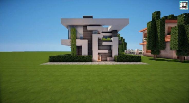 minecraft modern house blueprints - Google Search