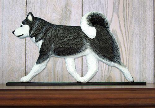 Alaskan Malamute shelf topper   www.pawsawhile.com.au