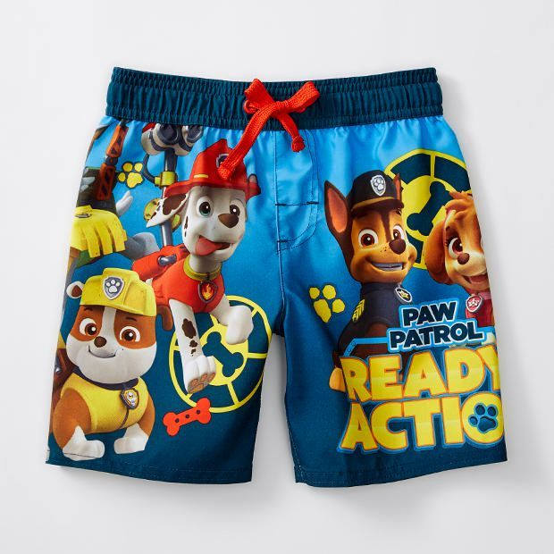 Paw Patrol 'Ready For Action!' Boardshorts