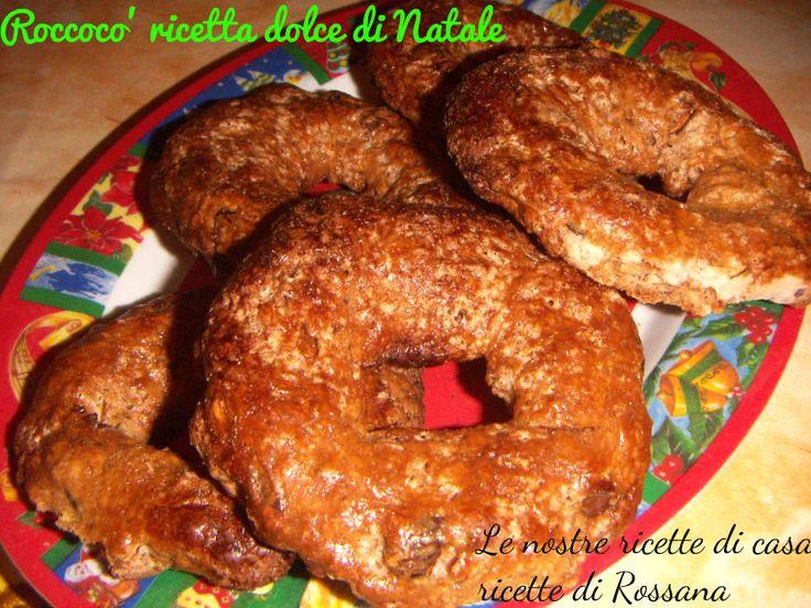 Roccoco', ricetta dolce di Natale, cucina napoletana