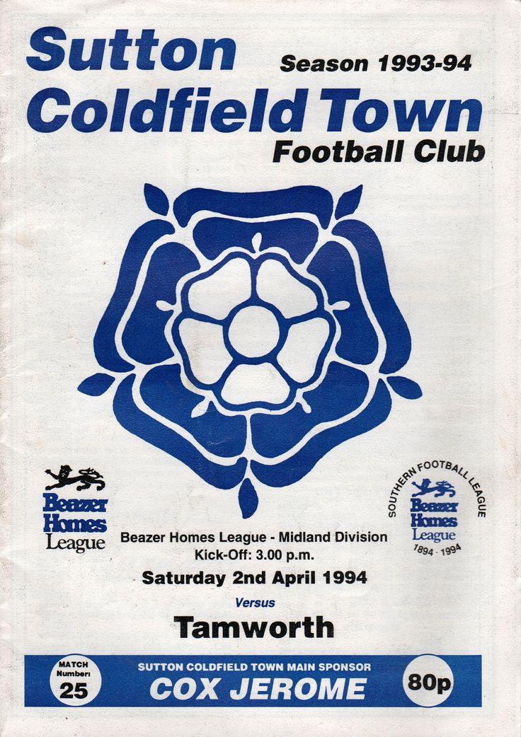 Sutton Coldfield Town FC in Birmingham, West Midlands