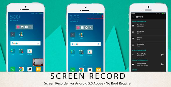 SCREEN RECORDER + ADMOB - Codecanyon Free Download Source Code