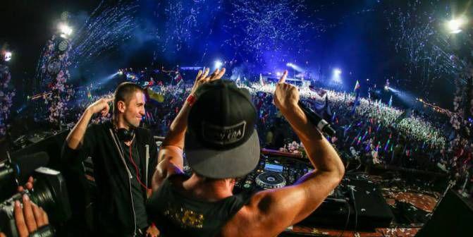 Dimitri Vegas & Like Mike @ TomorrowWorld 2013