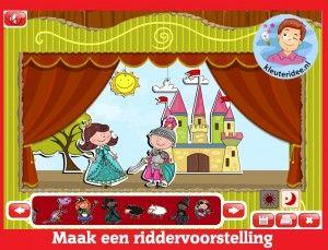 Vytvorte rytier show predškolákov na interaktívnu tabuľu alebo počítačovej kleuteridee.nl