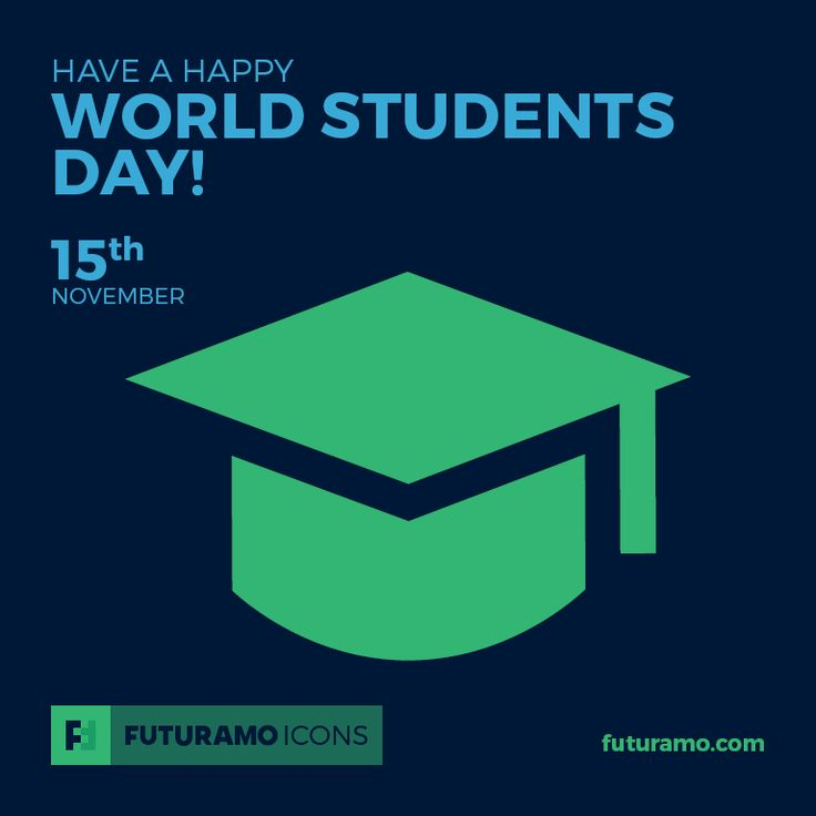 Have a happy World Students Day! All #icons used in the series are available in our App. Imagine what YOU could create with them! Check out our FUTURAMO ICONS – a perfect tool for designers & developers on futuramo.com #icondesign  #icons  #iconsystem  #pixel #pixelperfect  #flatdesign  #ux  #ui  #uidesign  #design #developer  #webdesign  #app  #appdesign #graphicdesign