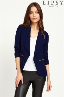 Lipsy Long Wrap Jacket