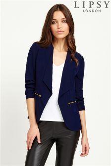 Lipsy Long Wrap Jacket