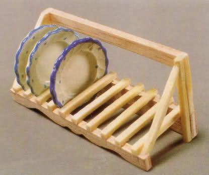 EL LOCO MUNDO DE LAS MINIS  - dish drainer made from matchsticks