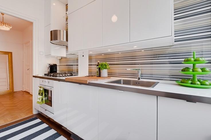 br vallagatan kitchen the kitchen is all from ikea abstrakt white kitchen pinterest. Black Bedroom Furniture Sets. Home Design Ideas